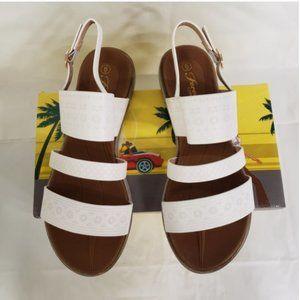 Forever Link White Triple Strap Sandal